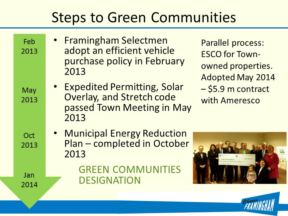 Steps to Green Communities