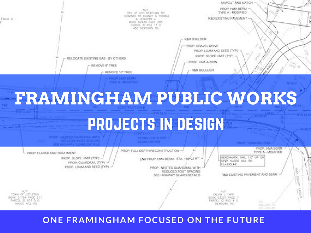 Image of Framingham Public Works Projects In Design Logo