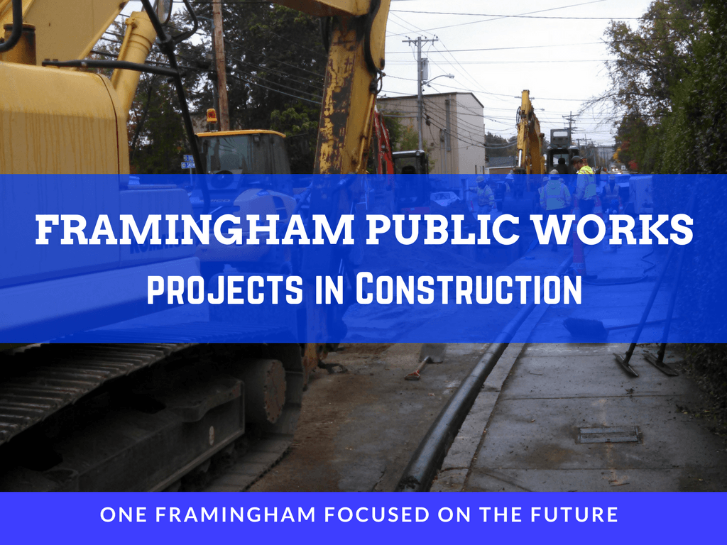 Image of Framingham Public Works Projects in Construction Logo