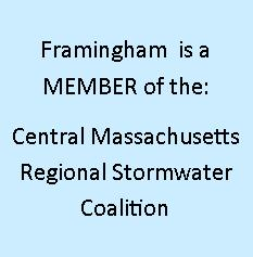 Framingham is a Member of the Central Massachusetts Regional Stormwater Coalition