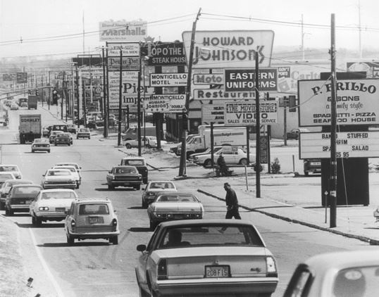 Route 9 - 50 years ago