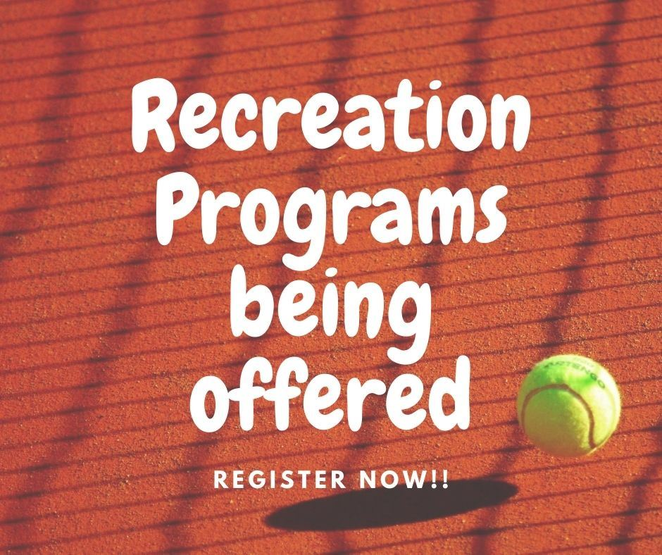 rec programs offered