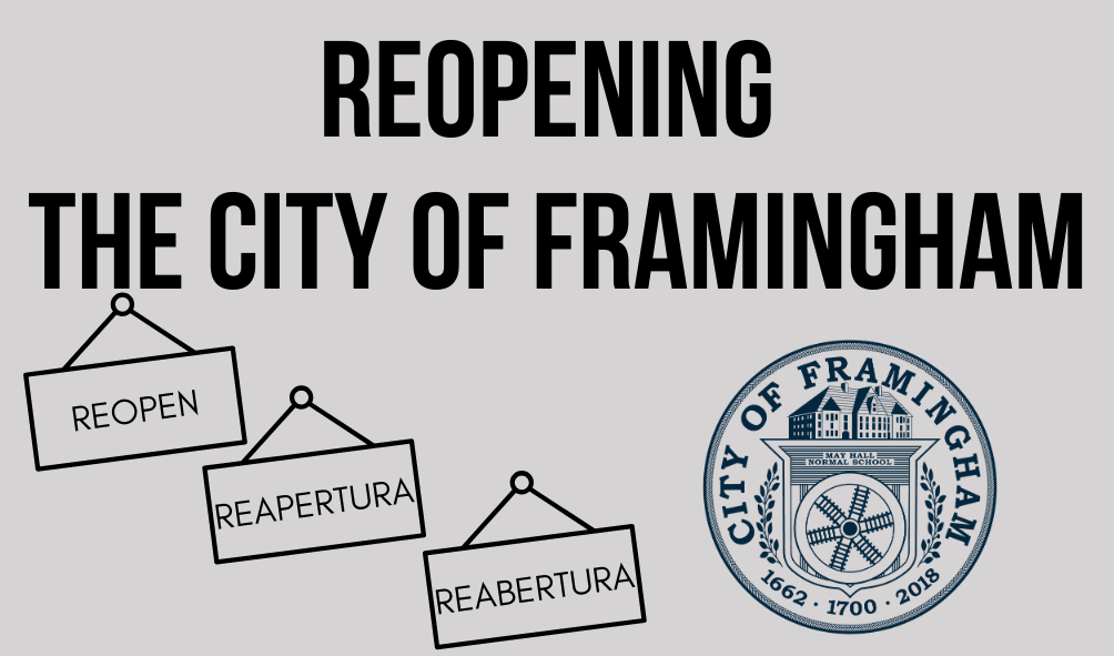 Reopening the City of Framingham
