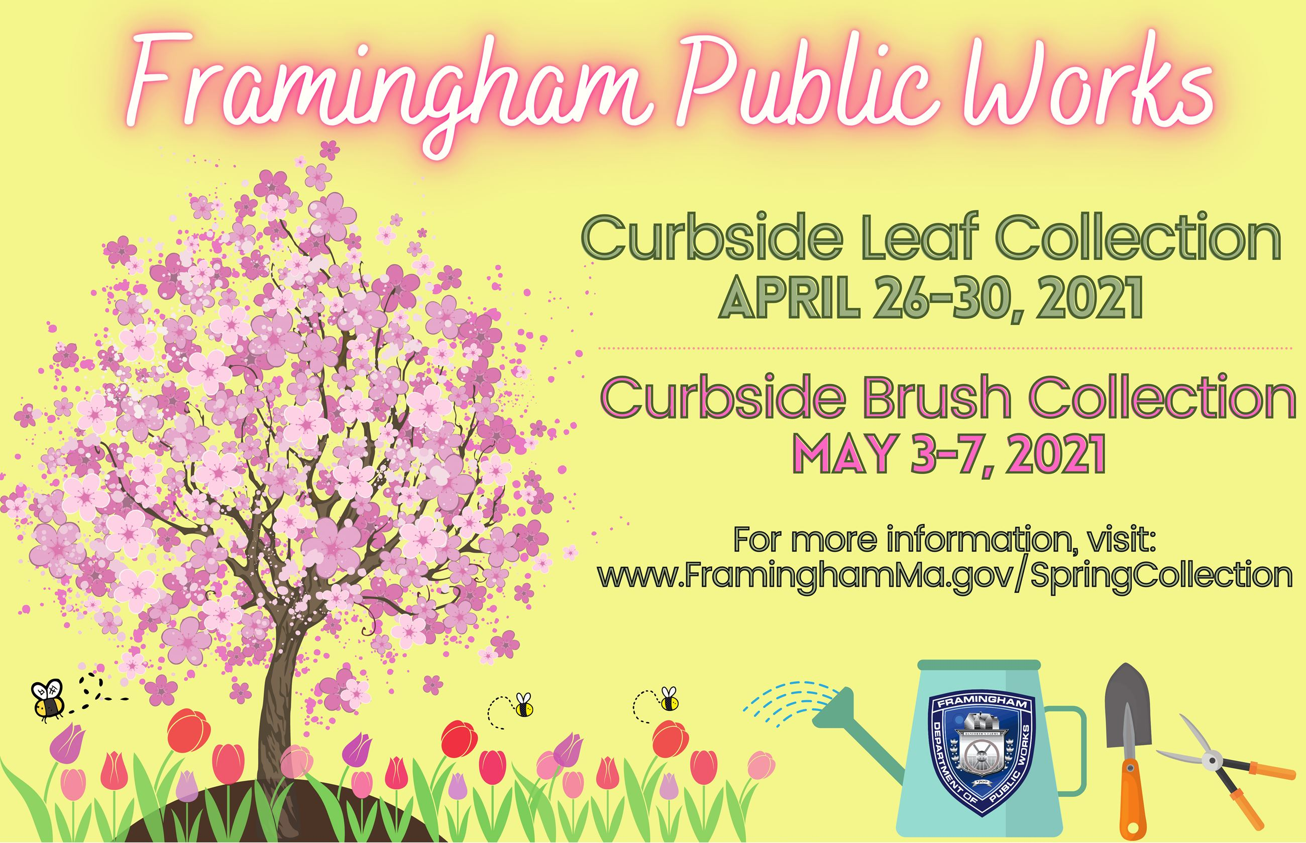 Framingham Public Works - Curbside Leaf and Brush Collection