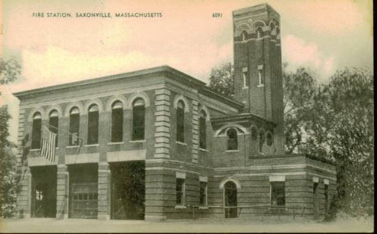 Historic Image of Saxonville Fire Station