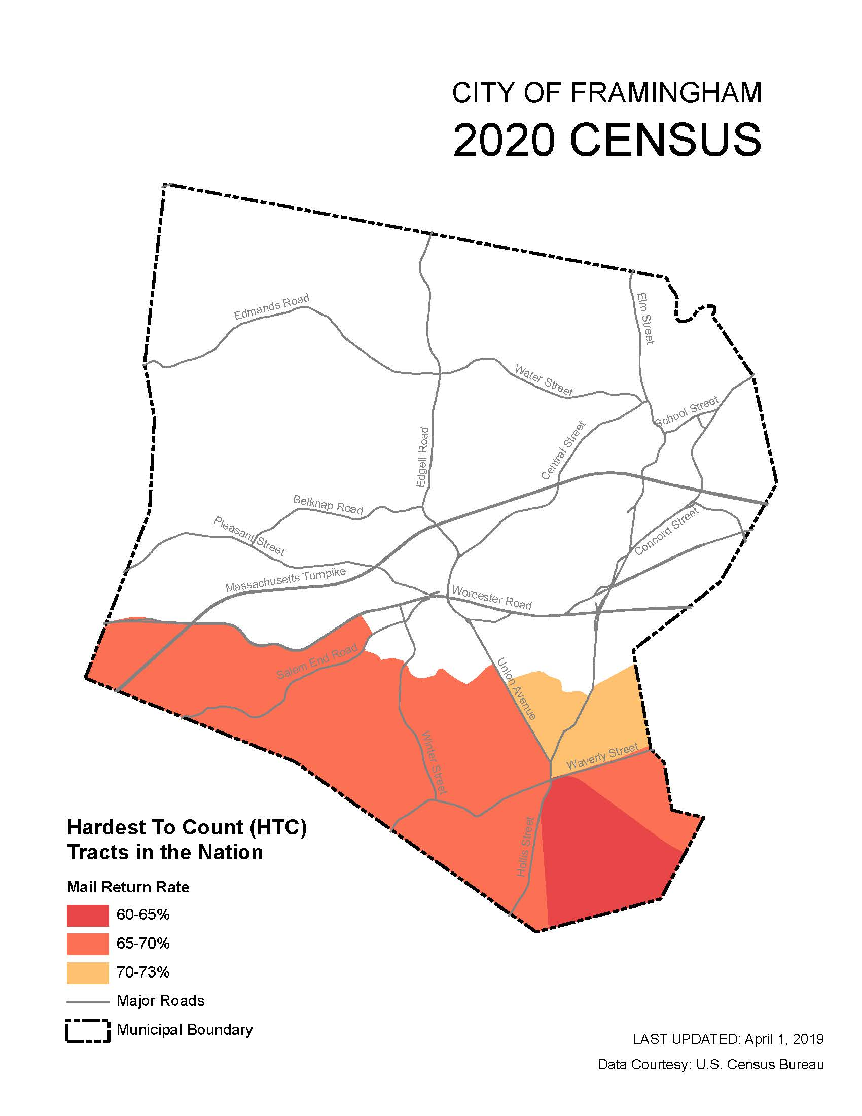 Hard to Count Census 2020 - MAP