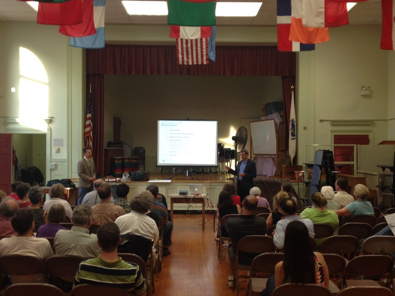 Saxonville Village Public Information Workshop